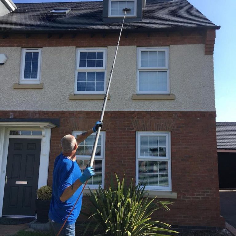 Clarity Reach & Wash Eco Friendly Window Cleaning Solution