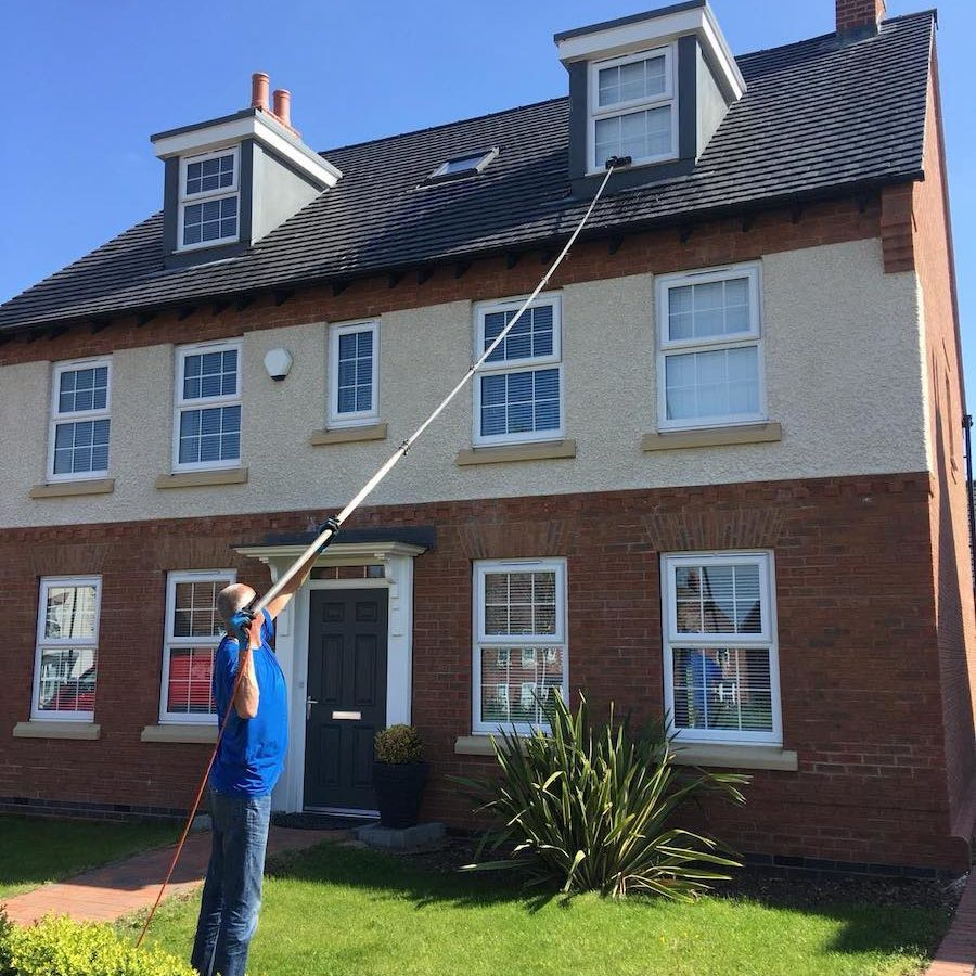 Clarity Reach & Wash Residential Window Cleaning Services for Homeowners